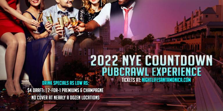 Santa Monica Pub Crawl New Year's Eve Party